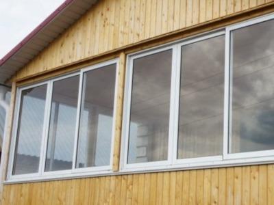 алюминиевые окна на дачу