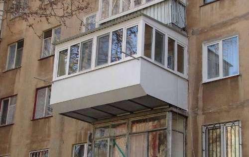 отделка балкона в хрущёвке