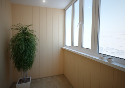балконы фото внутренняя отделка
