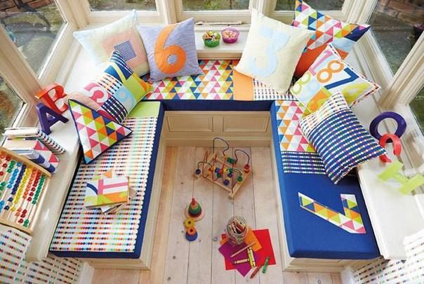 игровая для детей на балконе
