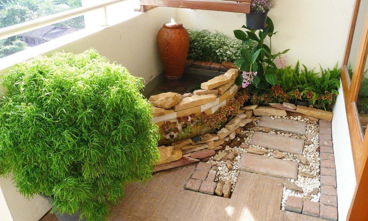Зимний сад на балконе или лоджии своими руками.