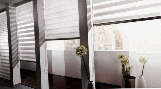 шторы день-ночь на балкон